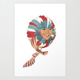 sonik Art Print