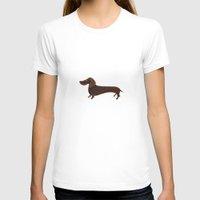 dachshund T-shirts featuring Dachshund by Cathy Brear