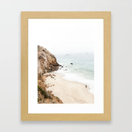Malibu California Beach Gerahmter Kunstdruck