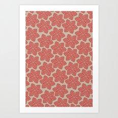 Bloom Pattern Art Print