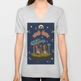 Magic Sisters Unisex V-Neck