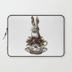 Rabbit in a Teacup Laptop Sleeve