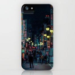 Tokyo Nights / Kabukicho Nights / Liam Wong iPhone Case