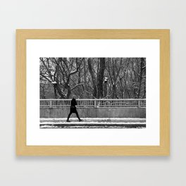 rosedale valley walk Framed Art Print