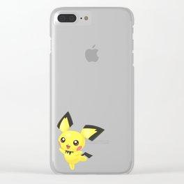 Super Smash Bros - Pichu Clear iPhone Case