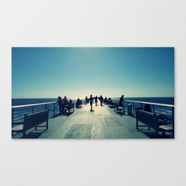 Hermosa Pier Canvas Print