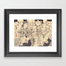 kopf Framed Art Print