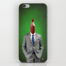 Neck iPhone Skin