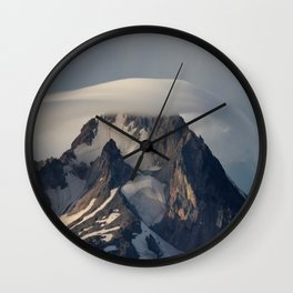 Hood With Cap Wall Clock