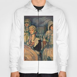 Marion Davis Monumental Portrait of the Gilded Age landscape painting by Federico Beltran Masses Hoody