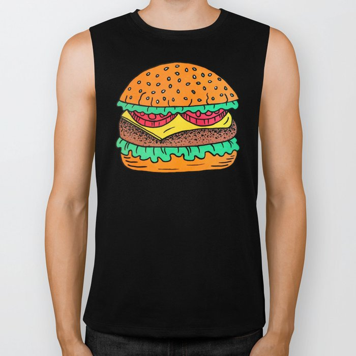 Burger Biker Tank