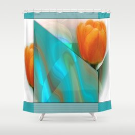 Tulip Sunrise Shower Curtain