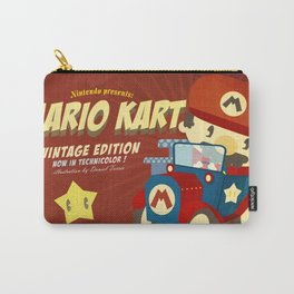 mario kart vintage Carry-All Pouch