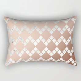 Copper & Marble 03 Rectangular Pillow