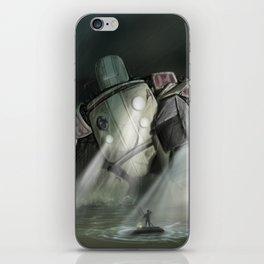 Robot H iPhone Skin
