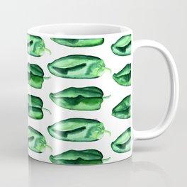 Poblano Peppers Coffee Mug