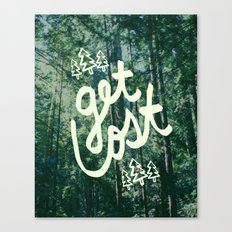 Get Lost x Muir Woods Canvas Print