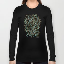 Branches – Mint & Gold Palette Long Sleeve T-shirt