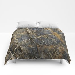 Natural Geological Pattern Rock Texture Comforters