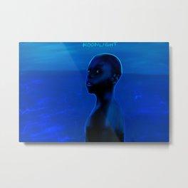 Moonlight FAN ART Metal Print