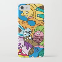 safari iPhone & iPod Cases featuring Safari by Chris Piascik