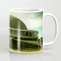 ufo Mugs featuring UFO by Jacquie Fonseca