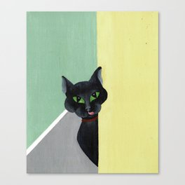 Mom, I am Hungry. Canvas Print