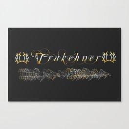 Trakehner Horses Fan-Laptopskin Canvas Print