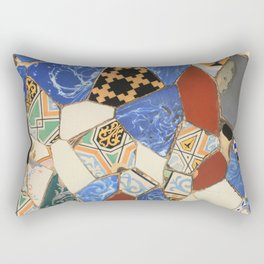 Mosaic decoration Rectangular Pillow