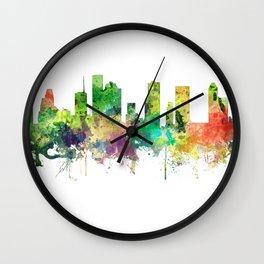 Houston, Texas skyline SP Wall Clock