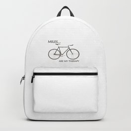 Miles Are My Therapy Backpack