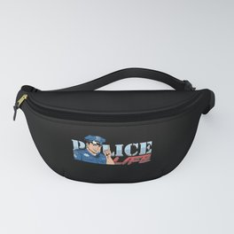 Police Life Policeman Police Officer Cop Gift Fanny Pack