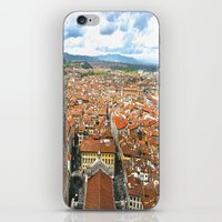 florence iPhone & iPod Skins featuring Florence by NatalieBoBatalie