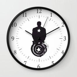 shield of patriot Wall Clock