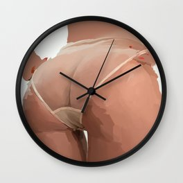 Tushie 7 Wall Clock