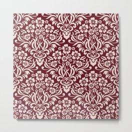 Damask Pattern 2 Metal Print