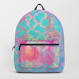 Colorful Abstract Patterns Backpack