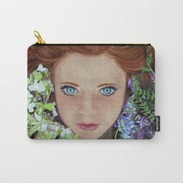 Among flowers Carry-All Pouch