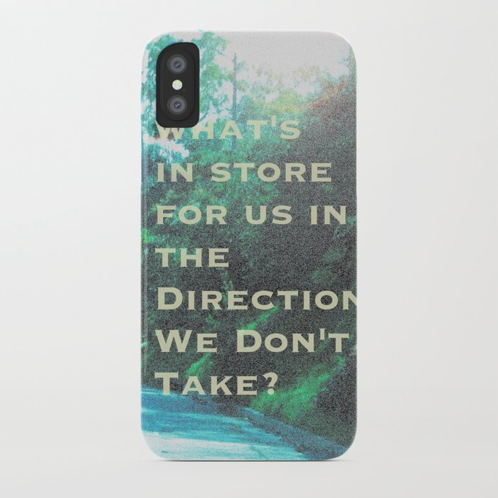 What Will Become of Us iPhone Case