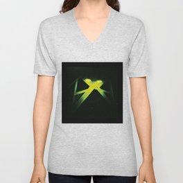 X cross Unisex V-Neck