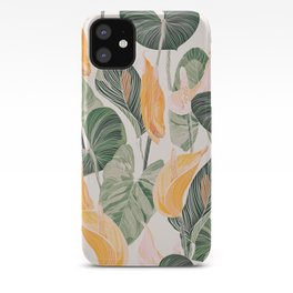 Lush Lily - Autumn iPhone Case