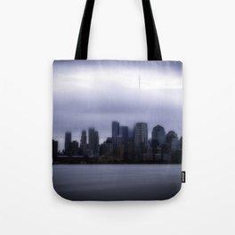 Moody city Tote Bag