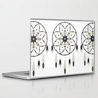 dreamcatcher Laptop & iPad Skins featuring Dreamcatcher by Bohemian Gypsy Jane