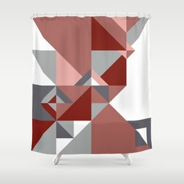 Triangle Shape Bottle Shower Curtain