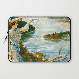 Furness Railway and Lady of the Lake Laptop Sleeve