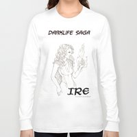 saga Long Sleeve T-shirts featuring DarkLife Saga Characters: Irulan  by Ronnie Massey