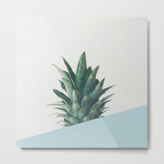 Pineapple Dip II Metal Print