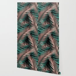 Palm Leaves - Cali Vibes #2 #tropical #decor #art #society6 Wallpaper
