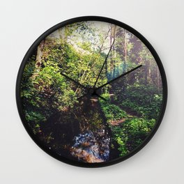 Down by the Stream Wall Clock