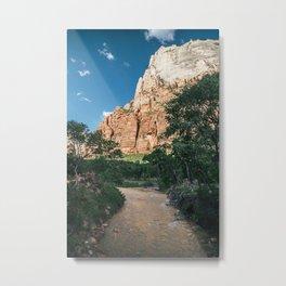 Virgin River in Zion Metal Print